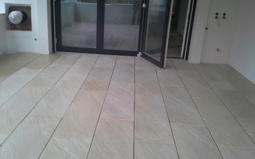 Betonplatten India Lemon